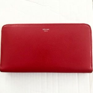 Celine Large Zipped Multifunction Wallet